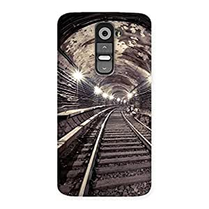Special Track in Tunnel Back Case Cover for LG G2