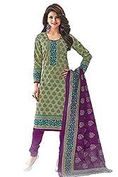 Gugaliya Women's Unstiched Superior Cotton FASHION SALWAR,KAMEEZ & DUPATTA Suit ( P530)