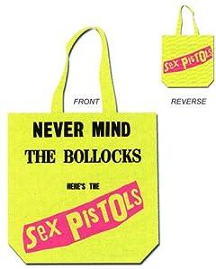 【ロンドン直輸入オフィシャルグッズ】Zックス・ピストルズ キャンバストートバッグ SEX PISTOLS Tote Bag [おもちゃ&ホビー]