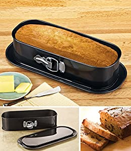 Non-Stick Springform Loaf Baking Pan