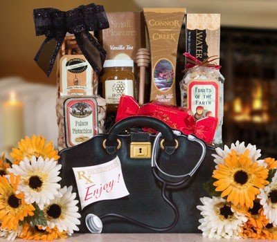 Doctor'S Prescriptions Bag - Get Well Soon Gift Assortment - Chicken Soup, Crackers, Vanilla Tea Assortment And More!