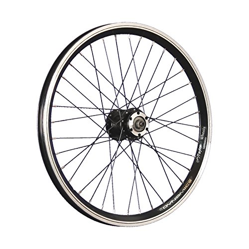 Taylor Wheels 20 Zoll Vorderrad Grünert Dynamic4 Hohlkammer 6 Loch Disc schwarz