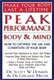 img - for Peak Performance: Body & Mind by Scott W. Donkin (2002-05-01) book / textbook / text book