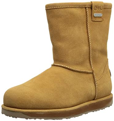 Emu Unisex-Child Brumby Lo Boots K10773 Chestnut 7 UK, 24 EU, 8 US, Regular