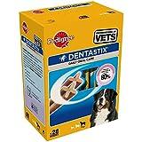 PEDIGREE - Dentastix pour grands chiens (+25kg) - 1 boîte de 28 Bâtonnets (1080g)