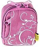 Bilora Fashion Bag 2341 Violett für Rollei Sportsline 60 und Sony DSC-W830