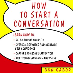 How to Start a Conversation | [Don Gabor]