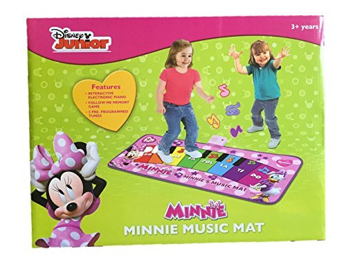 Disney Minnie Mouse Music Mat Electronic Piano Toys Games