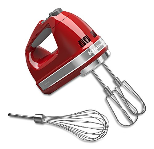 Big Save! KitchenAid KHM7210ER 7-Speed Digital Hand Mixer with Turbo Beater II Accessories and Pro W...