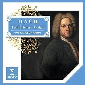 Bach English Suites - Partitas.