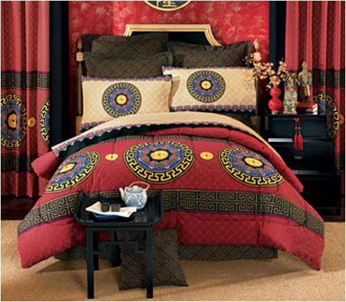 King bed quilts asian