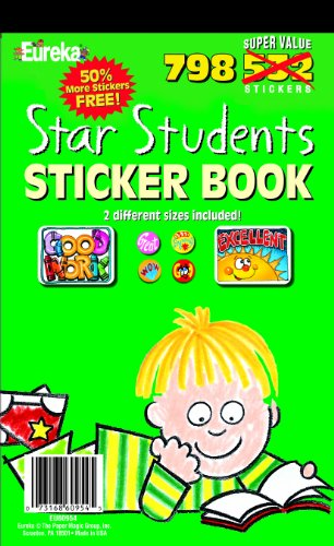 Eureka Star Students Sticker Book