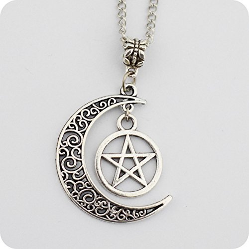 silver-pentagram-and-crescent-moon-pendant-wiccan-jewelry-pentacle-necklace-pentagram-necklace-by-fo