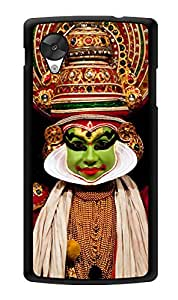 "Humor Gang Kathak Dancer Printed Designer Mobile Back Cover For ""Lg Google Nexus 5"" (3D, Glossy, Premium Quality Snap On Case)"