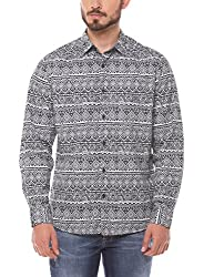 Shuffle Men's Casual Shirt (8907423018013_2021512601_Medium_Grey)