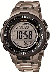Casio PROTREK Triple Sensor Ver.3 Tough Solar MULTIBAND 6 PRW-3000T-7JF Men's Watch (Japan Import)