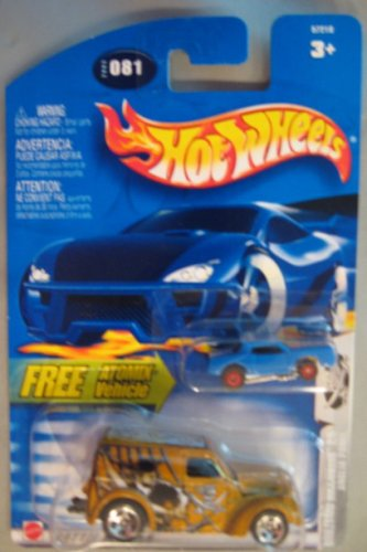 Hot Wheels 2003 Boulevard Buccaneers Anglia Panel GOLD Atomix 2/5 # 081 - 1