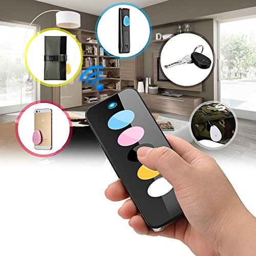 Wireless 5in 1 Things Lost Key Wallet Finder Locator Alarm Keychain Sound Seeker (Key Chain With Sound Locator compare prices)
