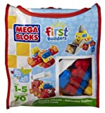 Mega Bloks Wacky Wheels Building Blocks Bag