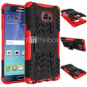 Covers Soft Silicone Hard Plastic Shell Case for Samsung Galaxy Note 5 Case Holder Stand Phone Case #04968397