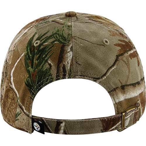 '47 Brand Pittsburgh Steelers NFL Realtree Camo Clean Up Cap from SteelerMania
