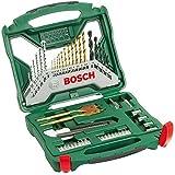 Bosch Bohrer-Set Titanium (50-teilig, X-Line für Holz, Stein, Metall) 2607019327