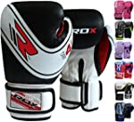 RDX Maya Hide Leather Kids Boxing Glo...