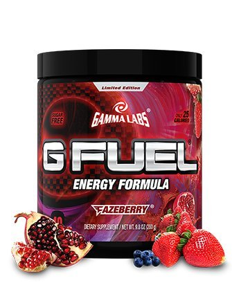 Gamma Enterprises G Fuel Nutrition Supplement, Fazeberry, 280 Gram (Gamma Shaker Cup compare prices)