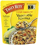 Tasty Bite Vegetable Korma Entree, Heat & Eat, 10-Ounce Packets (Pack of 6)