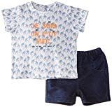 3Pommes Baby Boys Set Short Sleeve T Shirt Bermudas Clothing Set