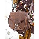 FeatherTouch Women Leather Camera Bag Leather Purse Crossbody Shoulder Bag Camera Case Travel Handbag