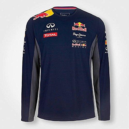 Pepe Red Bull Racing Collection OTL LS Functional Men-T-shirt  Uomo    Blu (Navy) Large