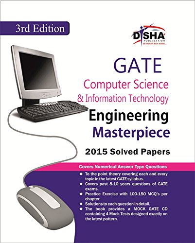 GATE Computer Science & Information Technology Masterpiece 2016 with 4 Mock Test CD (Old Edition)