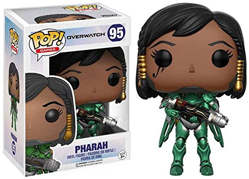 Pharah Emeraude Figurine Funko POP Overwatch Limited Edition
