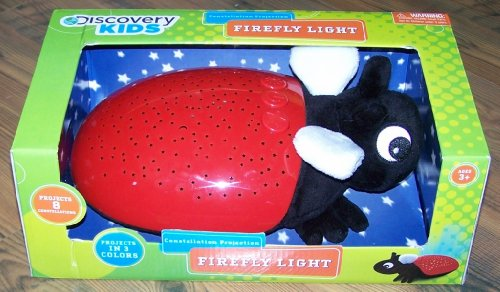 Discovery Kids Constellation Projection Firefly Light - Red front-367015