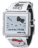 [エプソン スマートキャンバス]EPSON smart canvas Hello Kitty シンプルホワイト W1-HK10110 腕時計