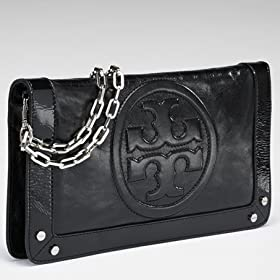 Tory Burch Bombe Reva Clutch black