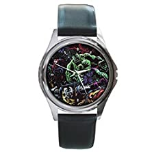buy Dia004 Wicked Vicious Super From Outer Space Ultimate Leather Wrist Watch