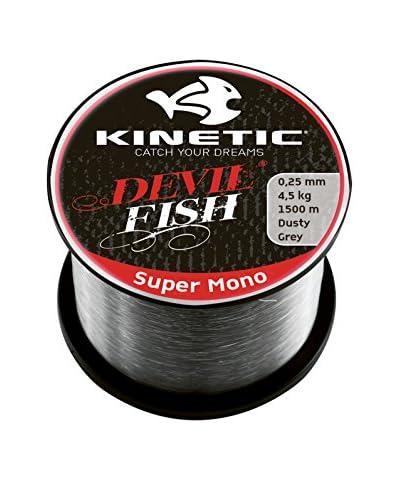 Kinetic Filo Da Pesca Super Mono 0,50 mm Grigio