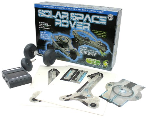 Build a Power Solar Space Rover - 1
