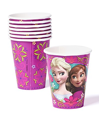 Great Deal! American Greetings Frozen 9-Ounce Paper Party Cups, Pack of 8, Party Supplies