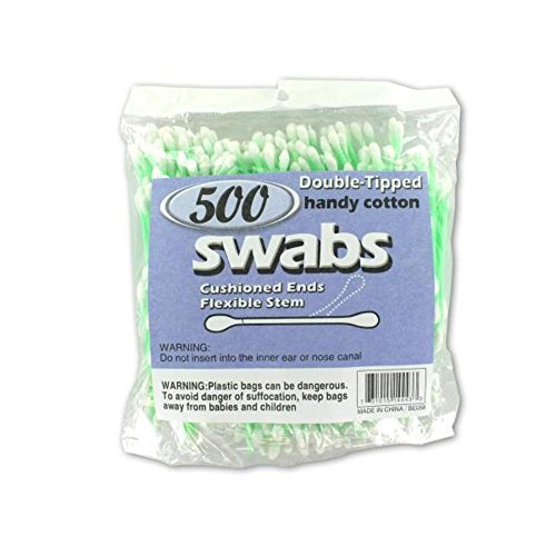 Double Tipped Cotton Swabs 72Pcs