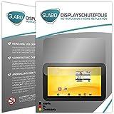 """2 x Slabo Film de protection d'écran Trekstor Volks-Tablet 3G (2. Génération) protection écran film """"No Reflexion"""" MAT - anti-reflets MADE IN GERMANY"""