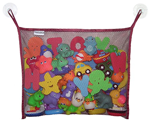 Toyganizer-Bath-Toy-Organizer-2-Bonus-Strong-Hooked-Suction-Cups