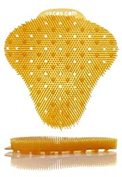 Ekcoscreen Orange/Tropical Anti Splash Urinal Screens, 12/bx