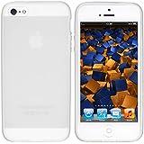 mumbi TPU Silikon Schutzhülle iPhone 5 5S Hülle weiß transparent