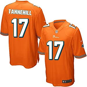 Ryan Tannehill Miami Dolphins NFL Orange Youth Size Jersey by OuterStuff