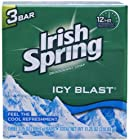 Icyblast Cool Refreshment Deodorant Soap by Irish Spring, 3 Count