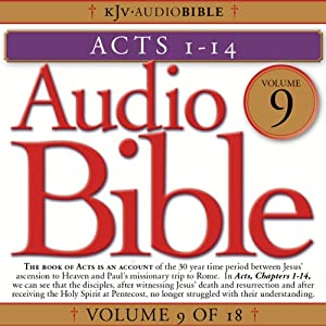 Audio Bible, Vol 9: Acts 1-14 Audiobook