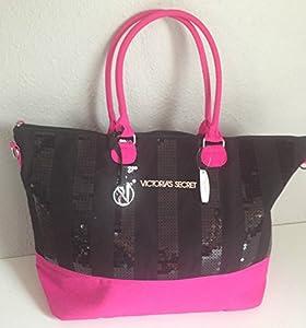 Victoria's Secret Black Friday 2013 Limited Ed. Weekender Bag Black/Pink